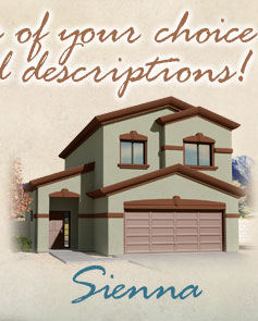 Model Sienna Floorplan - Coming Soon